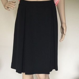 Eileen Fisher Silk Georgette Crepe Skirt NWT